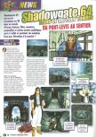Scan of the preview of Shadowgate 64: Trial of the Four Towers published in the magazine Le Magazine Officiel Nintendo 15