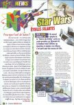 Scan of the preview of Star Wars: Episode I: Racer published in the magazine Le Magazine Officiel Nintendo 15
