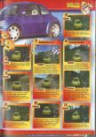Scan of the walkthrough of Beetle Adventure Racing published in the magazine Le Magazine Officiel Nintendo 15
