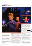 Scan of the review of 40 Winks published in the magazine N64 Gamer 22