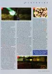 Scan of the walkthrough of Shadow Man published in the magazine N64 Gamer 22, page 9
