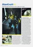 Scan of the review of Starcraft 64 published in the magazine N64 Gamer 23, page 1