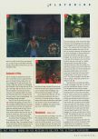 Scan of the walkthrough of Shadow Man published in the magazine N64 Gamer 23, page 2