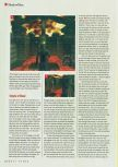 Scan of the walkthrough of Shadow Man published in the magazine N64 Gamer 23, page 4