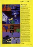 Scan of the preview of Duck Dodgers Starring Daffy Duck published in the magazine N64 Gamer 26, page 1