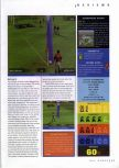 Scan of the review of Brunswick Circuit Pro Bowling published in the magazine N64 Gamer 26