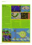 Scan of the review of Yoshi's Story published in the magazine N64 Gamer 03, page 3