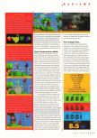 Scan of the review of Yoshi's Story published in the magazine N64 Gamer 03, page 4