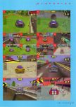 Scan of the walkthrough of San Francisco Rush published in the magazine N64 Gamer 03, page 2