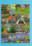 Scan of the walkthrough of San Francisco Rush published in the magazine N64 Gamer 03, page 6