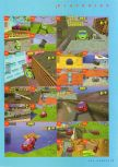 Scan of the walkthrough of San Francisco Rush published in the magazine N64 Gamer 03, page 10