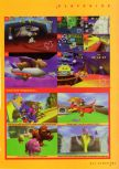 Scan of the walkthrough of Diddy Kong Racing published in the magazine N64 Gamer 03, page 6