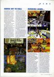 Scan of the preview of Lode Runner 3D published in the magazine N64 Gamer 06, page 1
