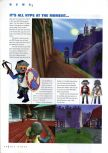 Scan of the preview of Hype: Time Quest published in the magazine N64 Gamer 07, page 1