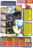 Scan of the review of Yoshi's Story published in the magazine Le Magazine Officiel Nintendo 04