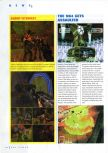 Scan of the preview of Assault published in the magazine N64 Gamer 10, page 1