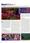 Scan of the review of Bust-A-Move 3 DX published in the magazine N64 Gamer 10