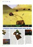 Scan of the preview of Wild Metal Country published in the magazine N64 Gamer 10, page 1