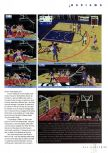 Scan of the review of NBA Live 99 published in the magazine N64 Gamer 11