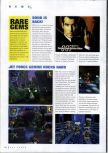 Scan of the preview of  published in the magazine N64 Gamer 13, page 1