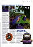Scan of the preview of Looney Tunes: Space Race published in the magazine N64 Gamer 13, page 1