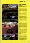 Scan of the preview of Beetle Adventure Racing published in the magazine N64 Gamer 13, page 1