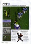 Scan of the review of FIFA 99 published in the magazine N64 Gamer 13