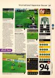 Scan of the review of International Superstar Soccer 98 published in the magazine 64 Magazine 16