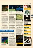Scan of the review of Holy Magic Century published in the magazine 64 Magazine 16, page 4