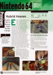 Scan of the preview of Hybrid Heaven published in the magazine Electronic Gaming Monthly 117, page 1