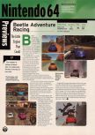 Scan of the preview of Beetle Adventure Racing published in the magazine Electronic Gaming Monthly 116