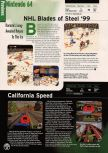 Scan of the preview of California Speed published in the magazine Electronic Gaming Monthly 116