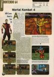 Scan of the preview of Mortal Kombat 4 published in the magazine Electronic Gaming Monthly 107