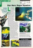 Scan of the preview of Star Wars: Rogue Squadron published in the magazine Electronic Gaming Monthly 109