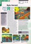 Scan of the preview of Body Harvest published in the magazine Electronic Gaming Monthly 109
