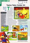 Scan of the preview of Conker's Bad Fur Day published in the magazine Electronic Gaming Monthly 109