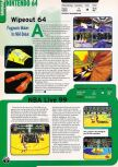Scan of the preview of NBA Live 99 published in the magazine Electronic Gaming Monthly 109