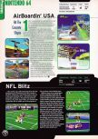 Scan of the preview of Airboarder 64 published in the magazine Electronic Gaming Monthly 109