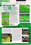 Scan of the preview of F-1 World Grand Prix published in the magazine Electronic Gaming Monthly 109