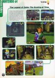 Scan of the preview of The Legend Of Zelda: Ocarina Of Time published in the magazine Electronic Gaming Monthly 109