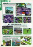 Scan of the preview of F-Zero X published in the magazine Electronic Gaming Monthly 109