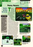 Scan of the preview of Penny Racers published in the magazine Electronic Gaming Monthly 111, page 1