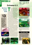 Scan of the preview of Extreme-G 2 published in the magazine Electronic Gaming Monthly 112, page 1