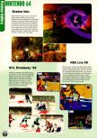 Scan of the preview of NBA Live 99 published in the magazine Electronic Gaming Monthly 112, page 1