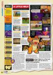 Scan of the review of Paper Mario published in the magazine N64 53, page 3