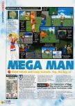Scan of the review of Mega Man 64 published in the magazine N64 53, page 1