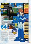 Scan of the review of Mega Man 64 published in the magazine N64 53, page 2