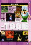 Scan of the review of Banjo-Tooie published in the magazine N64 54