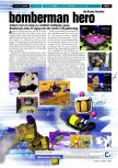 Scan of the review of Bomberman Hero published in the magazine Gamers Republic 05, page 1