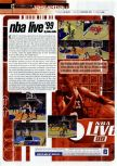 Scan of the review of NBA Live 99 published in the magazine Gamers Republic 07